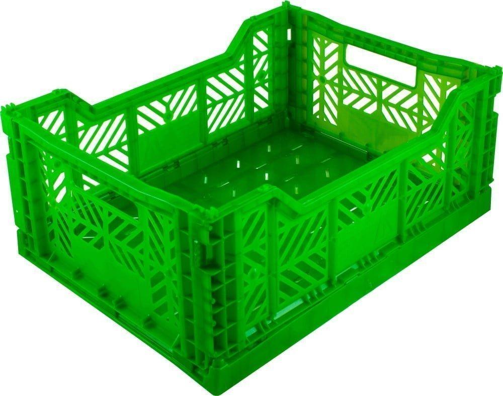 Grøn foldekasse